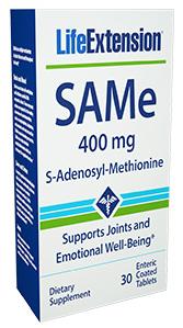 Image of SAMe 400 mg (S-Adenosyl-Methionine)