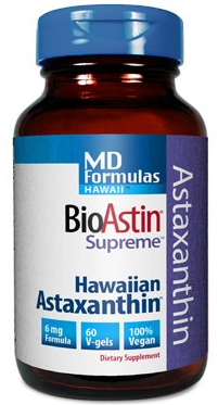 Image of MD Formula BioAstin Supreme 6 mg (Hawaiian Astaxanthin)