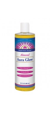 Image of Aura Glow Massage Oil Almond