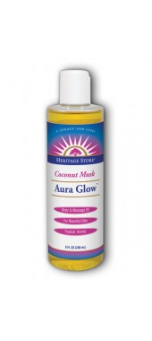 Image of Aura Glow Massage Oil Coconut/Musk