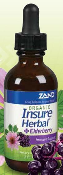 Image of Insure Herbal with Elderberry Organic