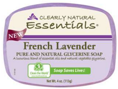 Image of Clearly Natural Glycerine Bar Soap French Lavender