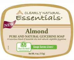 Image of Clearly Natural Glycerine Bar Soap Almond