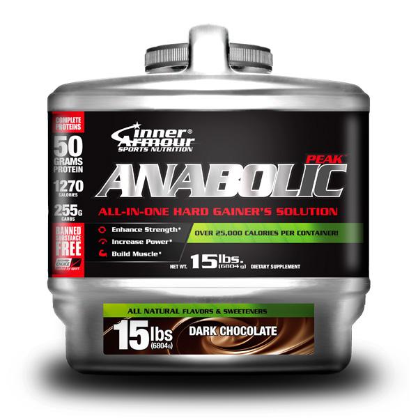 Image of Anabolic-Peak Weight Gainer - Dark Chocolate