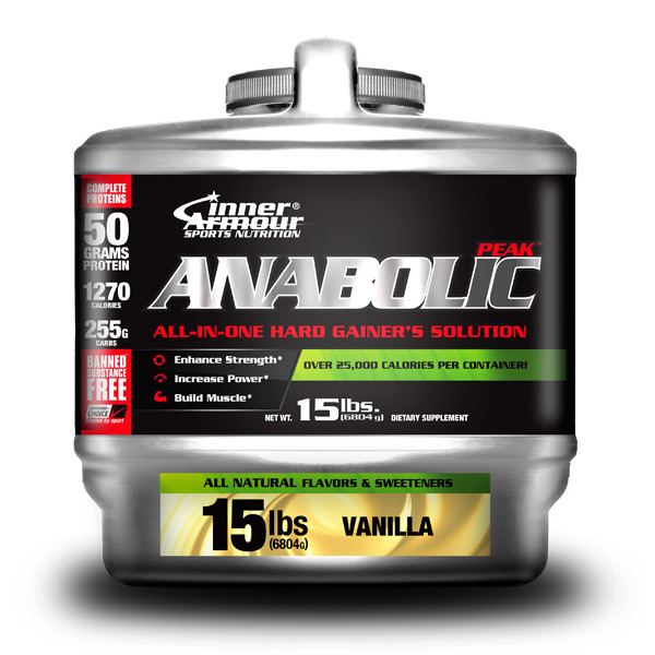 Image of Anabolic-Peak Weight Gainer - Vanilla
