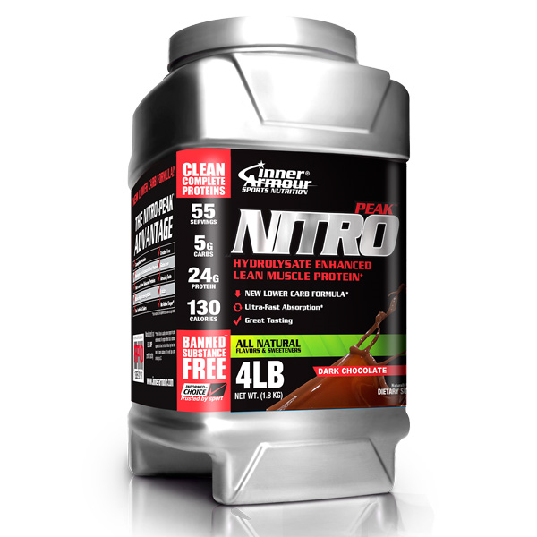 Image of Nitro-Peak Protein - Dark Chocolate