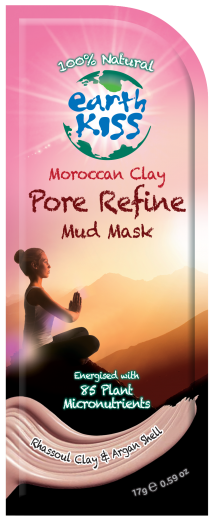 Image of Moroccan Clay - Pore Refine Mud Mask (combination, normal, oily skin)