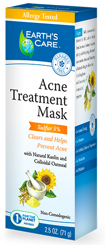 Image of Acne Treatment Mask (5% Sulfur)