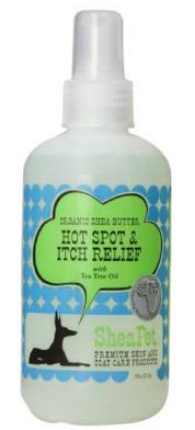 Image of SheaPet Organic Dog Herbal Hot Spot & Itch Relief Moisturizing Treatment