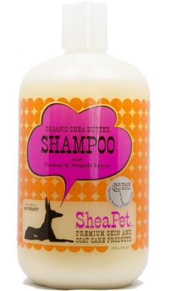 Image of SheaPet Organic Shea Butter Pet Shampoo with Oatmeal & Awapuhi