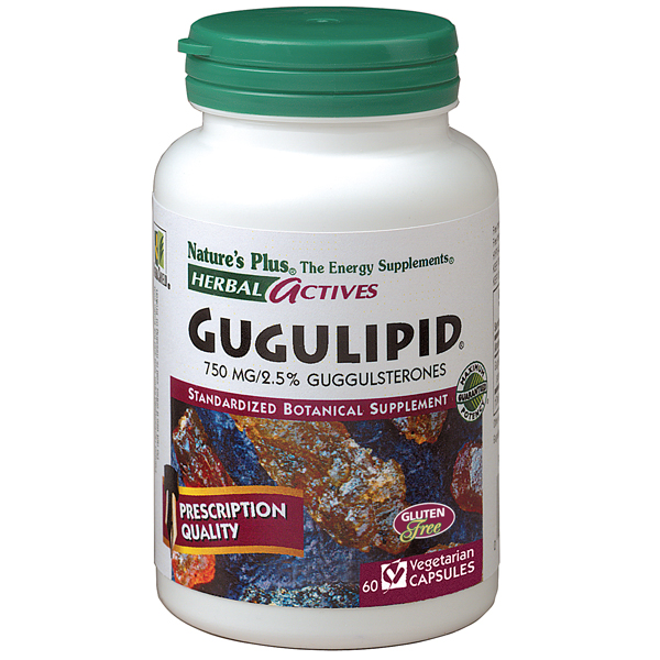 Image of Gugulipid 750 mg, Herbal Actives