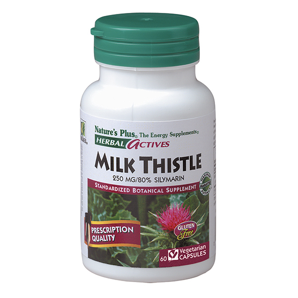 Image of Milk Thistle 250 mg, Herbal Actives