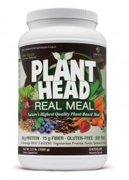 Image of Plant Head Real Meal Powder Chocolate