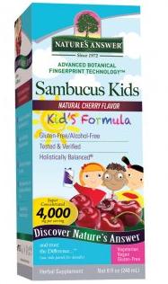 Image of Sambucus Kids Formula Cherry Liquid