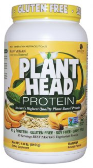 Image of Plant Head Protein Powder Banana