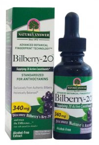 Image of Bilberry-20 Liquid