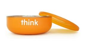 Image of ThinkBaby Baby Bowl Orange