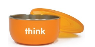 Image of ThinkBaby Cereal Bowl Orange
