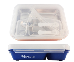 Image of ThinkSport GO2 Container Blue