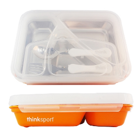 Image of ThinkSport GO2 Container Orange