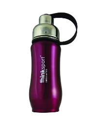 Image of ThinkSport Insulated Sports Bottle 17 Ounces Metallic Purple