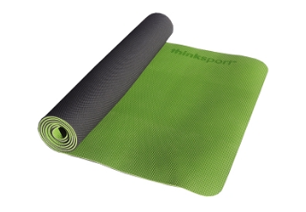 Image of ThinkSport Yoga Mat Black/Green