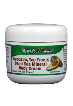 Image of Avocado, Tea Tree & Dead Sea Mineral Body Cream