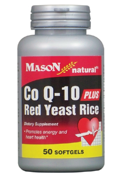 Image of CoQ10 plus Red Yeast Rice 60/600 mg