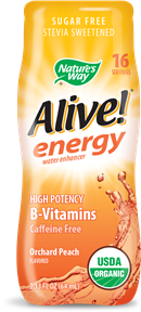 Image of Alive! energy water enhancer Orchard Peach Flavored