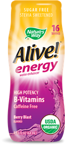 Image of Alive! energy water enhancer Berry Blast Flavored