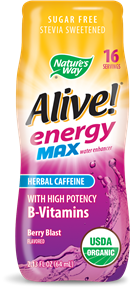 Image of Alive! energy Max water enhancer Berry Blast Flavored