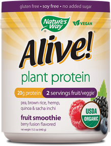 Image of Alive! Plant Protein Powder (Berry)