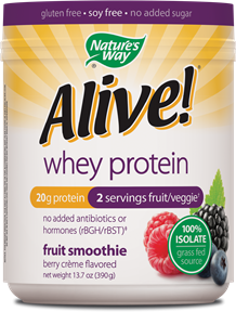 Image of Alive! Whey Protein Powder (Berry Creme)