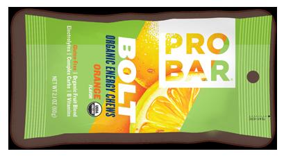 Image of PROBAR Bolt Energy Chews Bar Orange