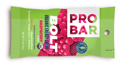 Image of PROBAR Bolt Energy Chews Bar Raspberry