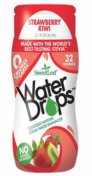 Image of SweetLeaf Water Drops Stevia Water Enhancer Strawberry Kiwi