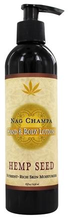 Image of Hand & Body Lotion (pump) - Nag Champa