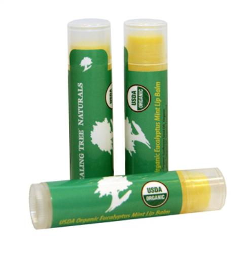 Image of Organic Mint Eucalyptus Lip Balm