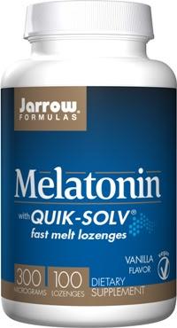 Image of Melatonin with QUIK-SOLV 300 MCG