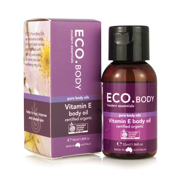 Image of ECO. Certified Organic Vitamin E Pure Body Oil