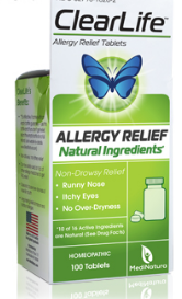Image of ClearLife Tablets (allergy relief)