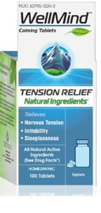 Image of WellMind Calming Tablets (tension relief)