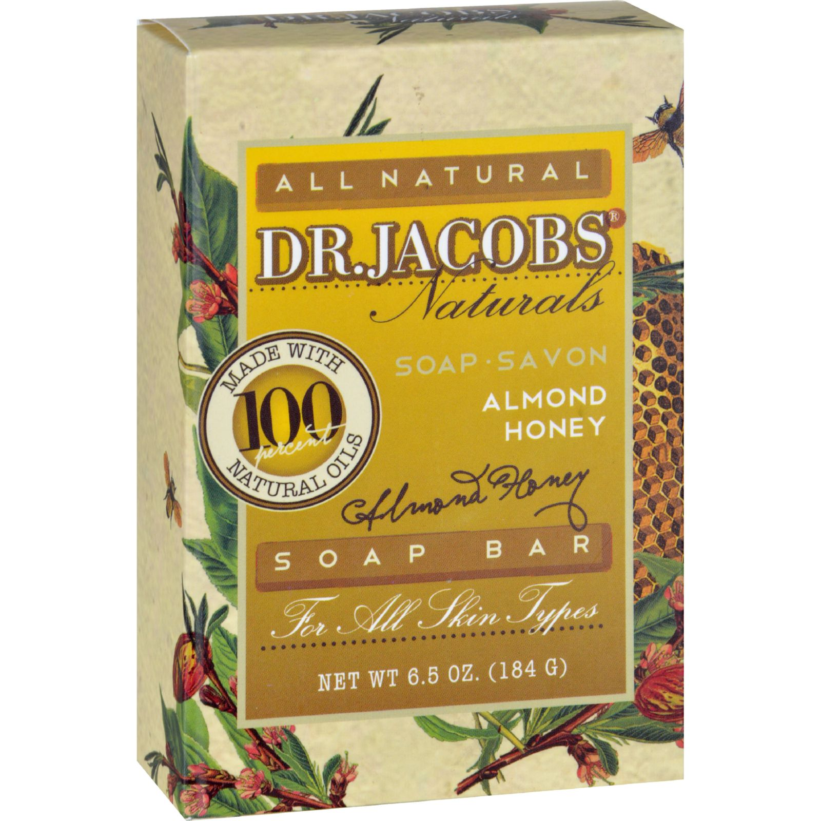 Image of Almond Honey Bar Soap