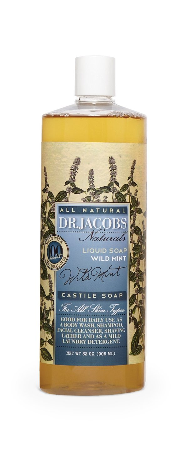 Image of Wild Mint Castile Liquid Soap