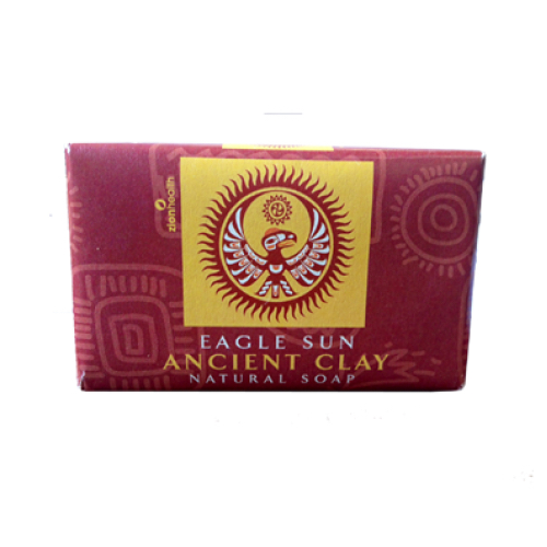 Image of Natural Clay Soap Eagle Sun
