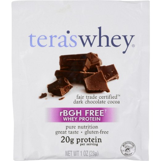 Image of Cow Whey rBGH Free Fair Trade Dark Chocolate