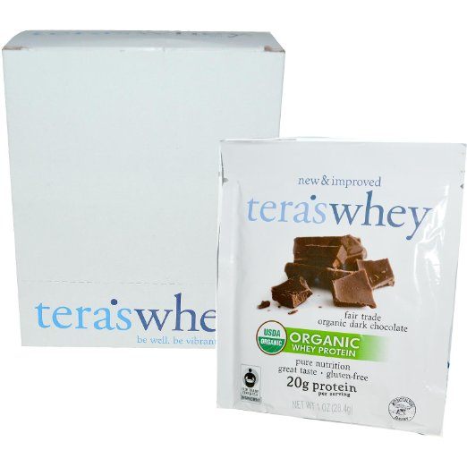 Image of Organic Cow Whey Fair Trade Dark Chocolate 1oz Counter Display