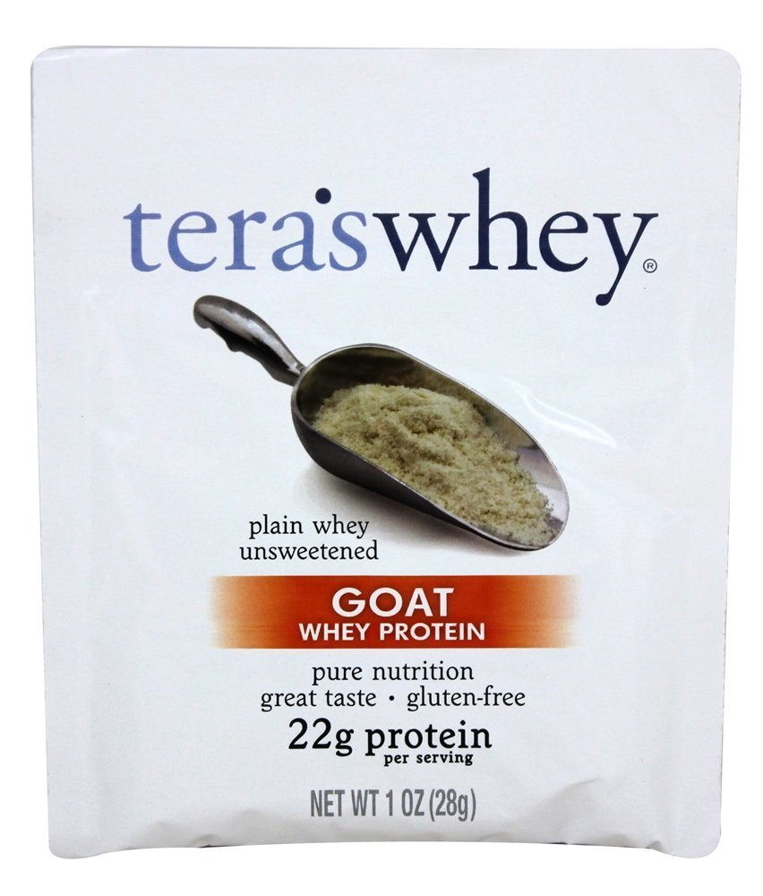 Image of Plain Goat Whey (Unsweetened) 1oz Counter Display