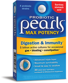Image of Probiotic Pearls MAX Potency (digestion & immunity)