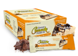 Image of Gourmet Cheesecake Protein Bar Peanut Butter Chocolate